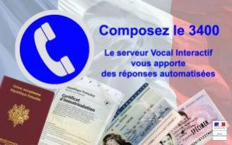 ALLO 3400 - Serveur vocal interactif national
