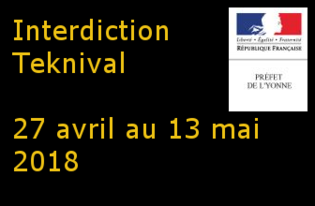 Interdiction Teknival du 27 avril au 13 mai 2018